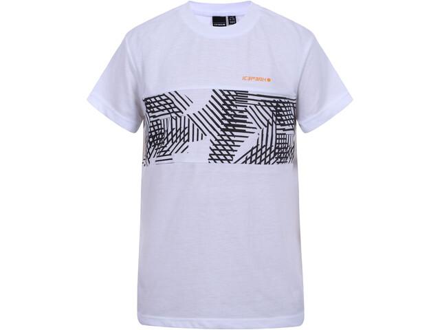 Icepeak Tyrus T-Shirt Garçon, white